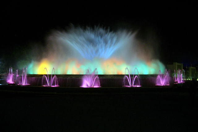 Montjuic Fountain