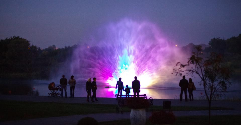 water screen nozzle fountana fountain