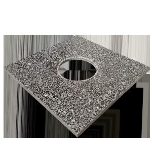 سنگ گرانیت نازل کف خشک  60x60x4 cm