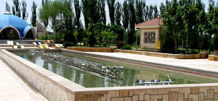 BOSTAN JAHAN Musical Fountain