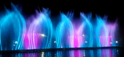 Melat Park Musical Fountain Project